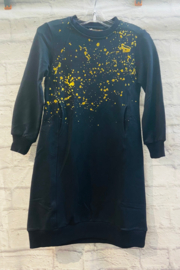 junee GIRLS Randall Metallic Splatter Dress - Product Mini Image