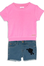 Hudson Jeans Girls' Short Set - Front cropped