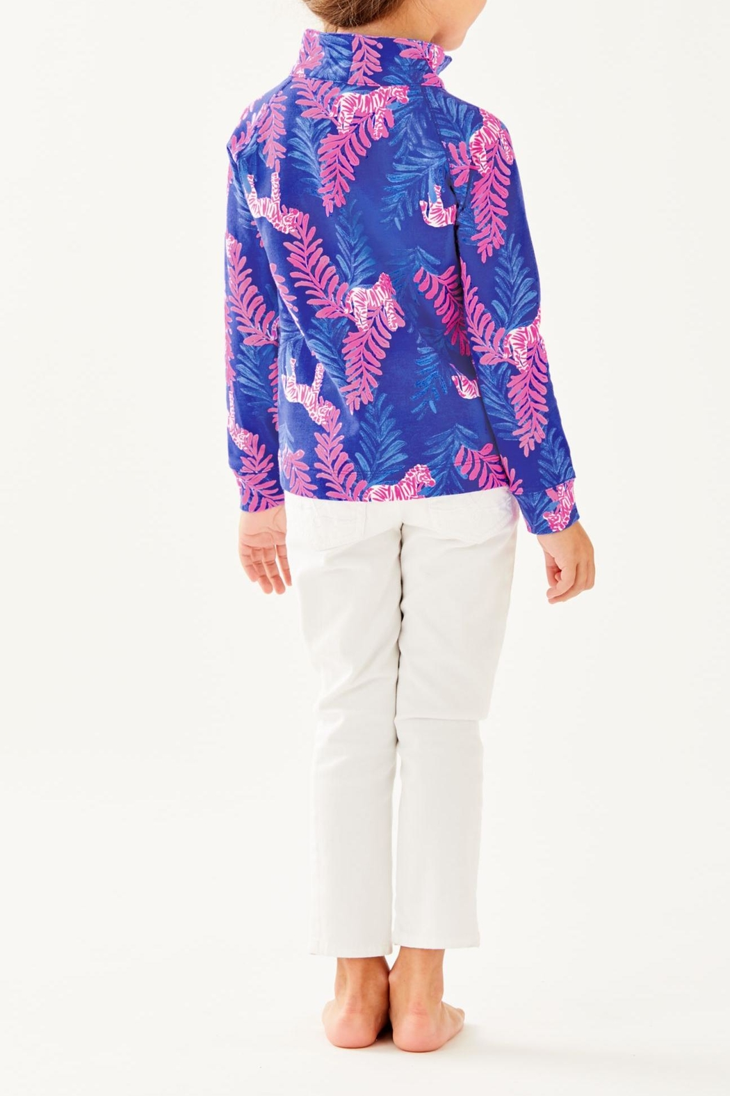 Lilly Pulitzer Girls Skipper Popover - Front Full Image