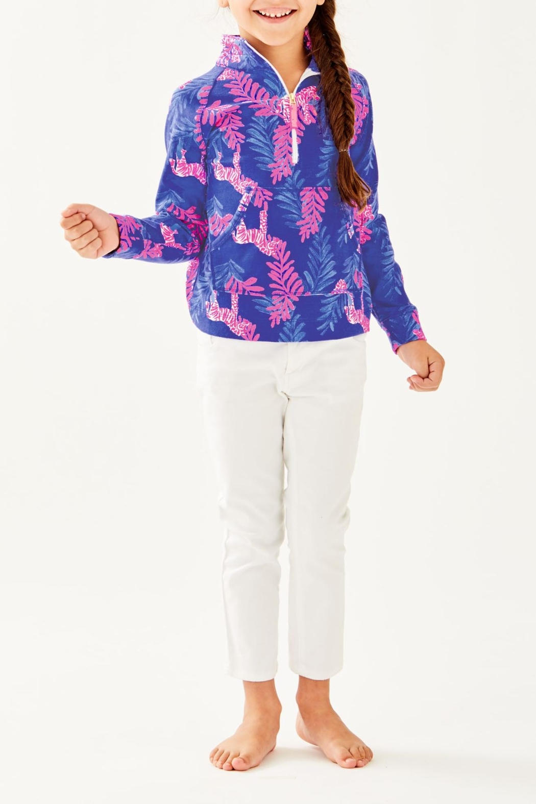 Lilly Pulitzer Girls Skipper Popover - Side Cropped Image