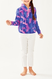 Lilly Pulitzer Girls Skipper Popover - Side cropped