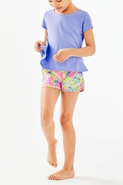 Lilly Pulitzer Girls Sondra Peplum-Top - Side cropped