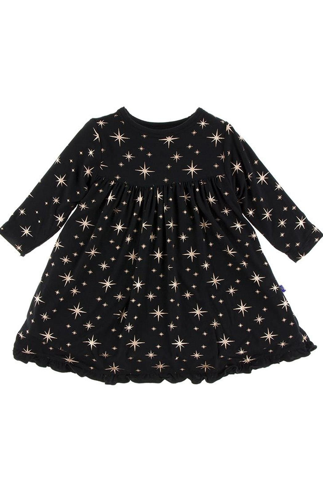 Kickee Pants Girls Star Dress - Main Image