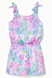 Lilly Pulitzer  Girls Sundari Romper - Product Mini Image