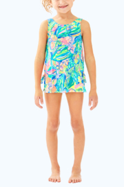 Lilly Pulitzer Girls Swim Dress - Front cropped