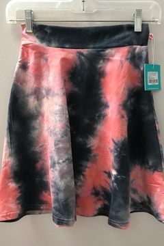 Shoptiques Product: GIRLS Tie Dye Camp Skirt