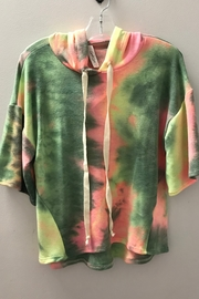 GOOD GIRL GIRLS TIE DYE HOODIE - Product Mini Image