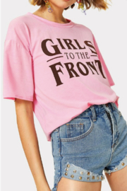 Ivory Girls To the Front Tee - Product Mini Image