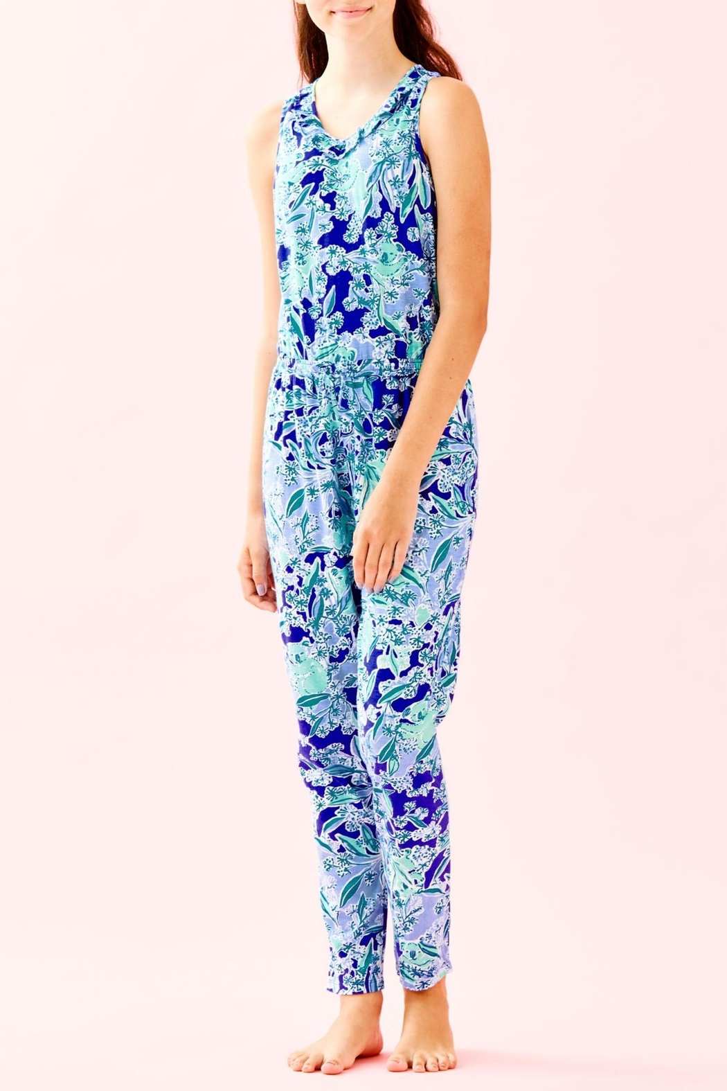 Lilly Pulitzer Girls Vala Jumpsuit - Main Image
