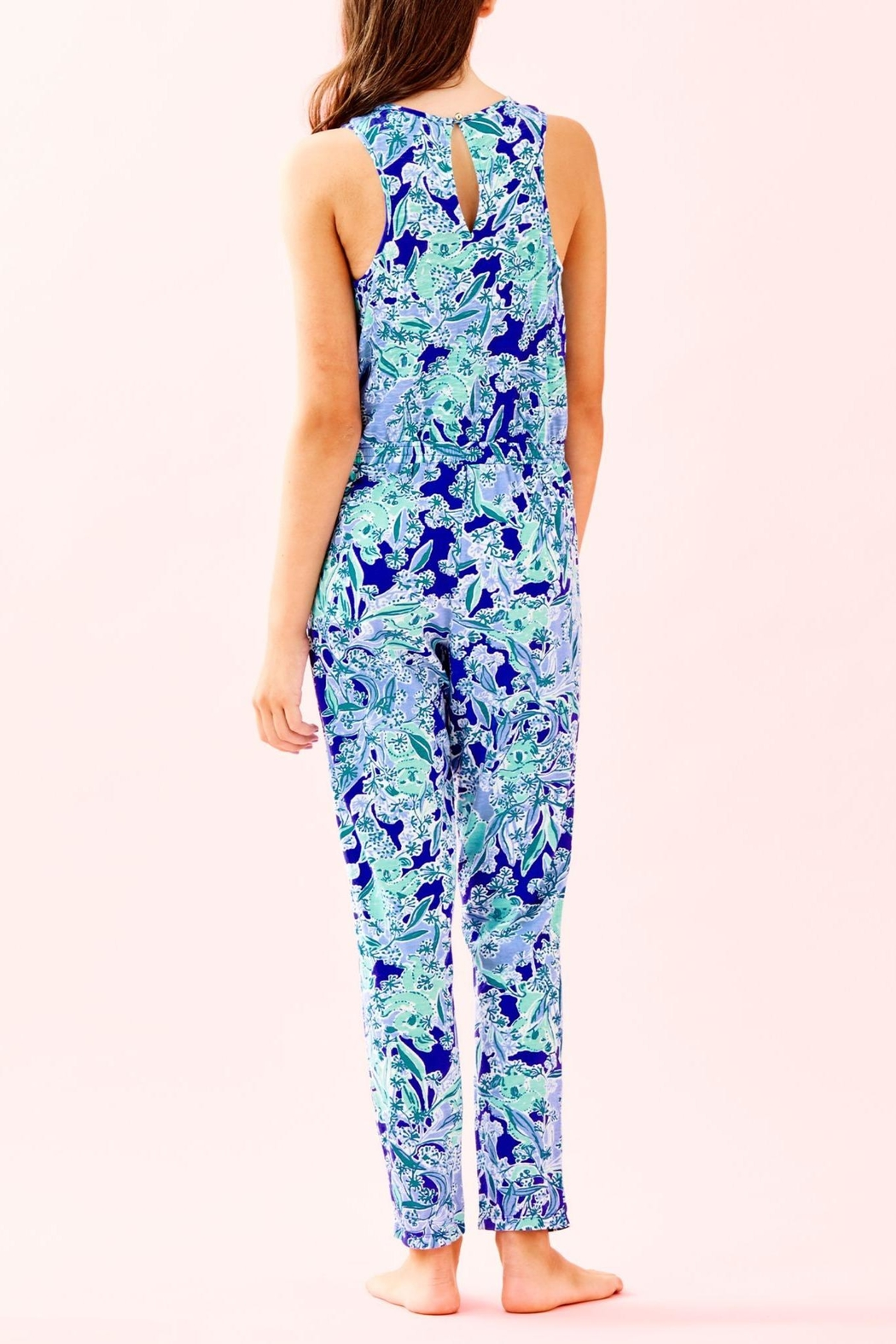 Lilly Pulitzer Girls Vala Jumpsuit - Front Full Image