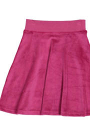 Three Bows GIRLS Velour Camp Skirt - Product Mini Image