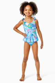 Lilly Pulitzer  Girls Vossie UPF 50+ Swimsuit - Product Mini Image