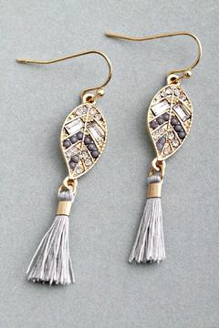 Shoptiques Product: Ornate Tassel Earrings