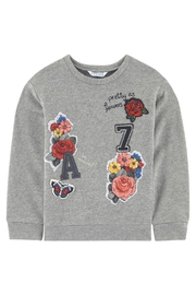 Mayoral Girly Patched Sweatshirt - Front cropped