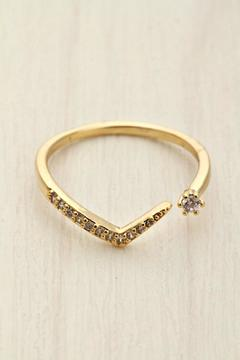 Girly V Cz Ring - Product List Image
