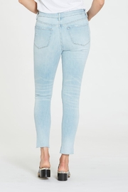 Dear john  Gisele Hi Waist Raw Step Hem Jean - Front full body