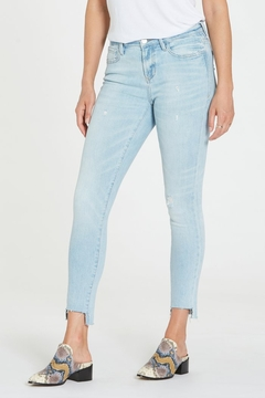 Dear john  Gisele Hi Waist Raw Step Hem Jean - Product List Image