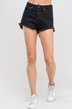Shoptiques Product: Giselle Frayed Denim Short