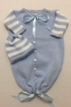 Shoptiques Product: Baby Bunting Hat Set