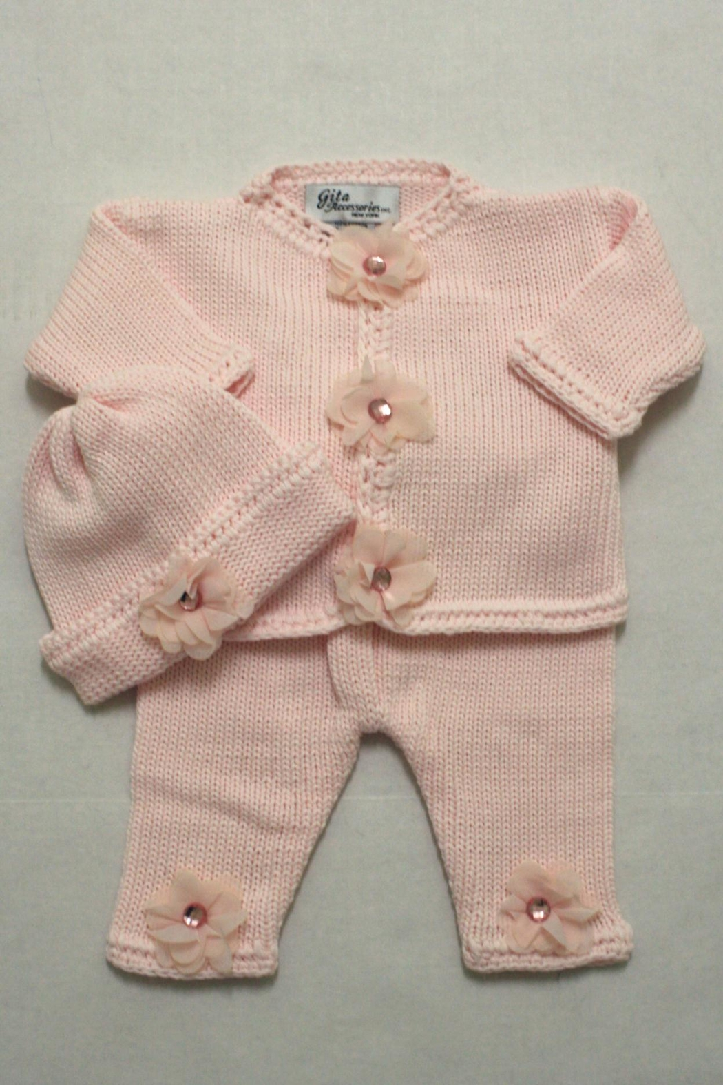 5403c9b3931f Gita Accesories Inc. Baby Cardigan Set from Ohio by Stork sLanding ...