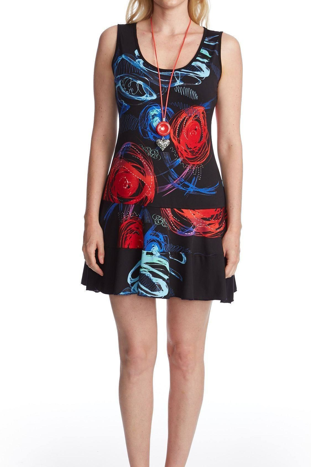 Gitane Multi Colored Dress - Front Cropped Image