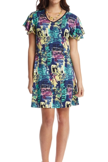 514d4f6a74a3bf Tengri Short Sleeve Dress By Tigerlily Online The Iconic Australia ...