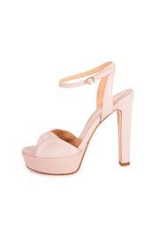 Giuseppe Flessigno Leather Platform Heels - Front full body