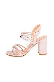 Giuseppe Flessigno Leather Straps Heels - Front full body