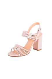 Giuseppe Flessigno Leather Straps Heels - Front cropped