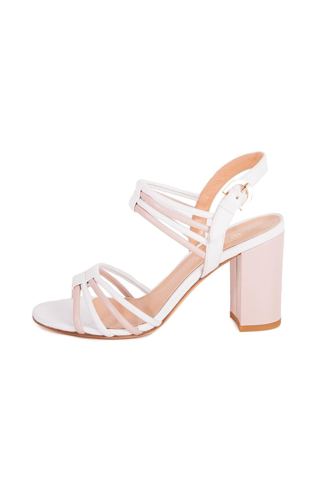 Giuseppe Flessigno Leather Straps Sandals - Front Full Image