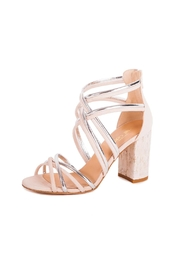 Giuseppe Flessigno Multicolor Straps Heels - Front cropped