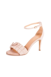 Giuseppe Flessigno Stiletto Suede Sandals - Front cropped