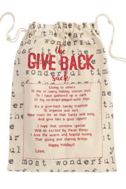 MudPie Give Back Sacks - Front cropped