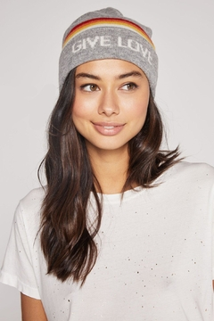SPIRITUAL GANGSTER Give Love Beanie - Product List Image