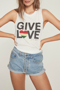 Shoptiques Product: Give Love Muscle Tank