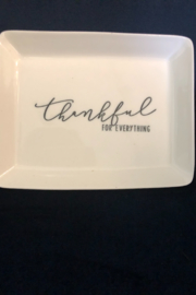 Boe Giving Thanks Mini Porcelain Trays - Front cropped