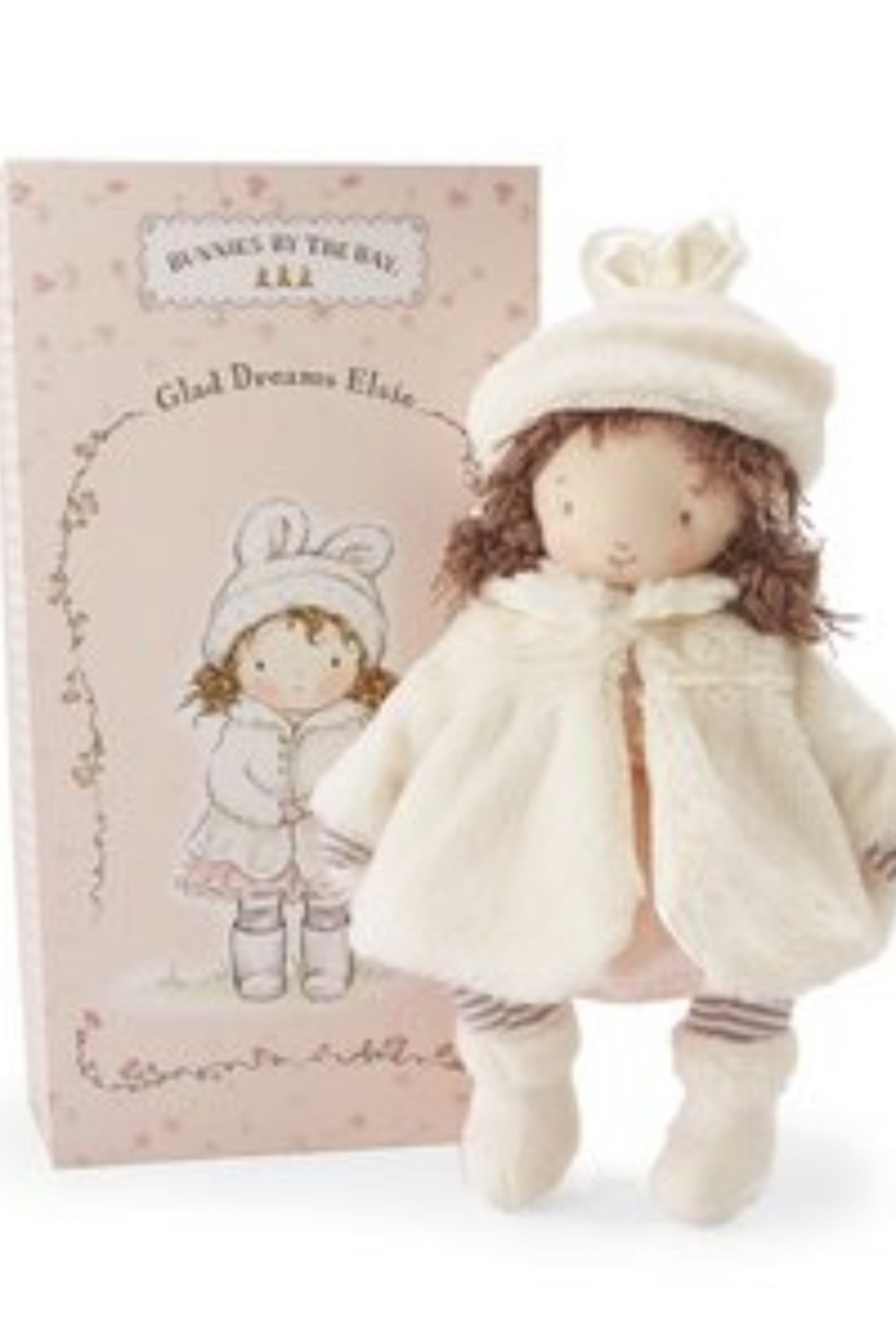 Bunnies by the Bay Glad Dreams Elsie Doll - Front Full Image
