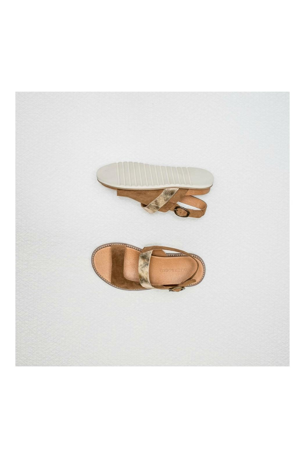 TEN POINTS Gladiator Leather Sandal - Main Image
