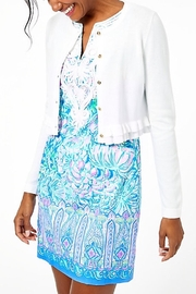 Lilly Pulitzer Gladys Ruffle Cardigan - Front cropped