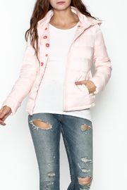 Glam Amor Italian Bubble Jacket - Front cropped