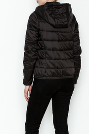 Glam Amor Italian Bubble Jacket - Back cropped