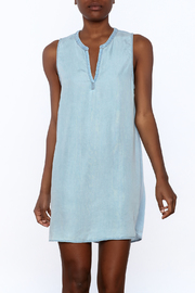 Glam Baby Blue Dress - Front cropped