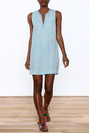 Glam Baby Blue Dress - Front full body
