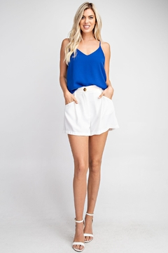 Glam Blue Cami Top - Product List Image