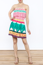 Glam Bright Lorrie Dress - Side cropped
