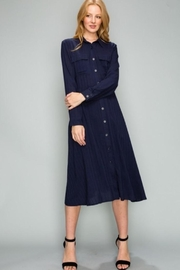 Glam Button Down Dress - Product Mini Image
