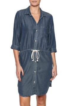 Glam Button Down Tencel Dress - Product List Image
