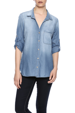 Glam Chambray Top - Product List Image