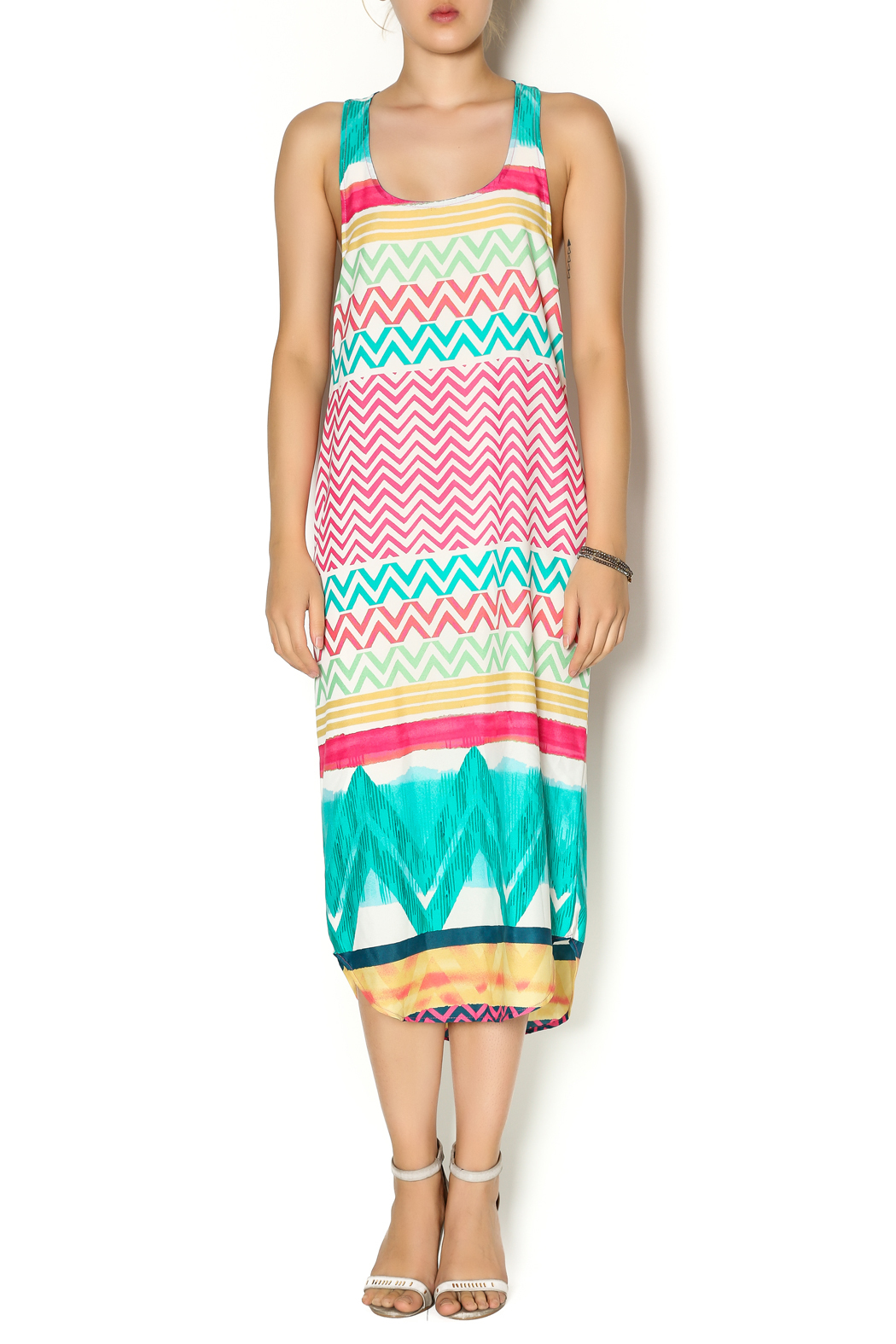 Glam Chloe Dress - Front Cropped Image