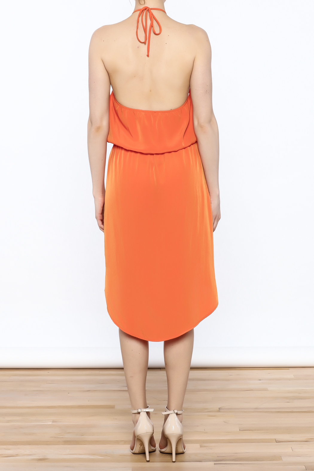 Glam Game Day Dress - Back Cropped Image